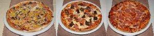 Akciós Pizza  3 db Ø30 cm
