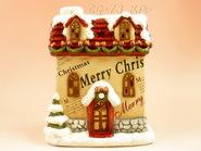 kerámia karácsonyi dísz 10