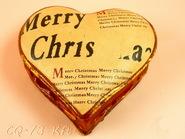kerámia karácsonyi dísz 11