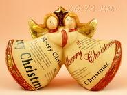 kerámia karácsonyi dísz 12