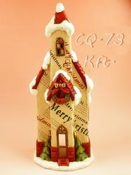 kerámia karácsonyi dísz 13