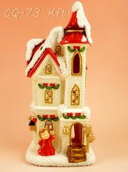 kerámia karácsonyi dísz 14