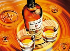 bacardi rum - 8 éves