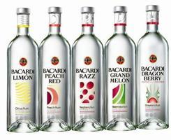 bacardi rum - apple limon razz
