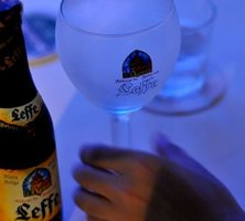 belga sör - leffe brune dark