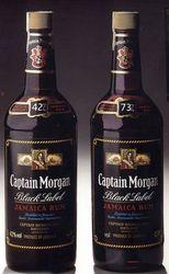captain morgan rum - captain morgan black label
