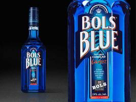 kék likőr blue curacao