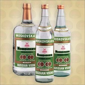 moskovskaya vodka - orosz vodka