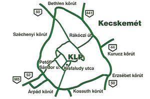 KLP Mintabolt - Kecskemét térkép
