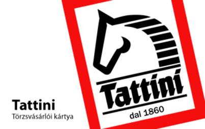 Tattini törzsvárásárlói kártya