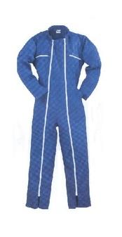 férfi overall kék