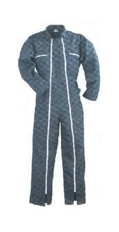 férfi overall sötétszürke