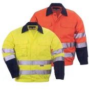 láthatósági munkaruha kabát