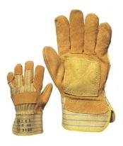 munkavédelmi kesztyű sárga
