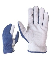 sertésbőr munkavédelmi kesztyű kék