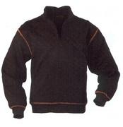 UP barna férfi pulóver