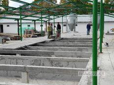 csarnok szerkezetépítés - Paks, sertésnevelő