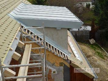 passzívház hőszigetelés - tető és oldalfal