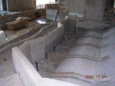 vasbeton medence szerkezet építés- Egerszalók