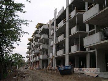 vasbeton szerkezet - Tölgyes lakópark