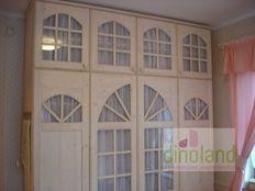 egyedi gyerekbútor fehér szekrény