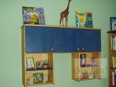 egyedi gyerekbútor könyvespolc