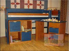 emeletes ágy szekrénnyel Juli
