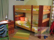 fenyő emeletes ágy Marci