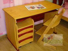 gyerek íróasztal konténerrel Anna