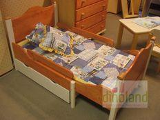hosszabbítható gyerekágy leesésgátlóval ágyneműtartó