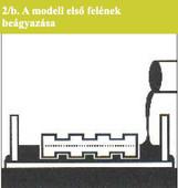a modell első belének beágyazása 2.