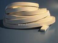 téglalap szelvényű szilikonszivacs szalag