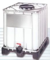 1000 literes NW 400 típusú ibc tartaly műanyag raklappal