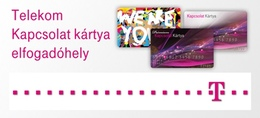 Kapcsolat kártya Telekom