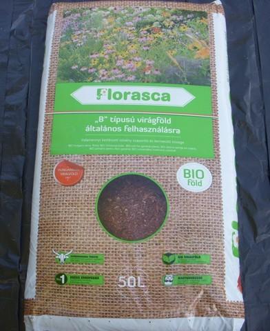 Florasca 'B' típusú virágföld általános felhasználásra