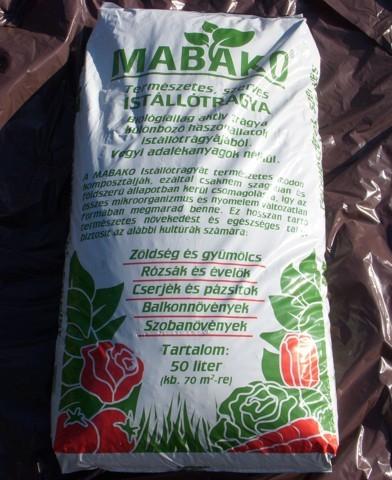 Mabako istállótrágya