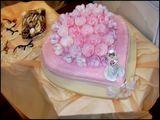 esküvői 32 szeletes torta