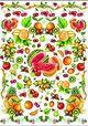 Esprimo dekupázs papír - déli gyümölcsök