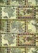 Tassotti dekupázs papír - térkép