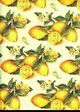 Tassotti dekupázs papír - citrom