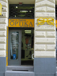 Optikai szaküzlet
