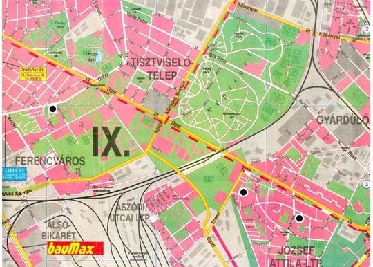 budapest ferencváros térkép Ferencvárosi Egyesített Bölcsődei Központ   Bemutatkozás budapest ferencváros térkép