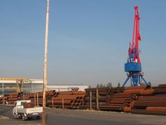 Telephelyünk a csepeli Szabadkikötőben